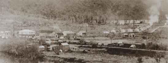 History Te Kinga Lake Brunner West Coast New Zealand