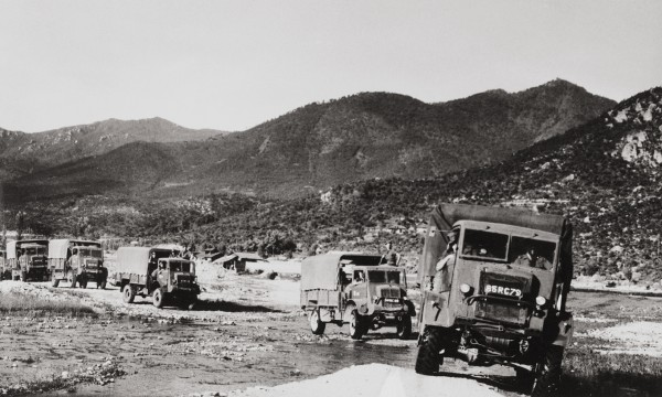 NZ trucks - Korean War